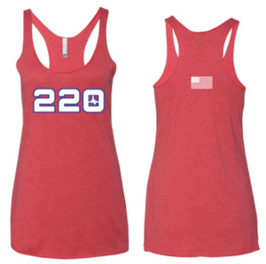 220 Fitness - Racerback Tank *Available in 3 Color Options