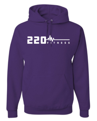 220 Fitness Adult Unisex Hoodie *Available in 8 Color Options