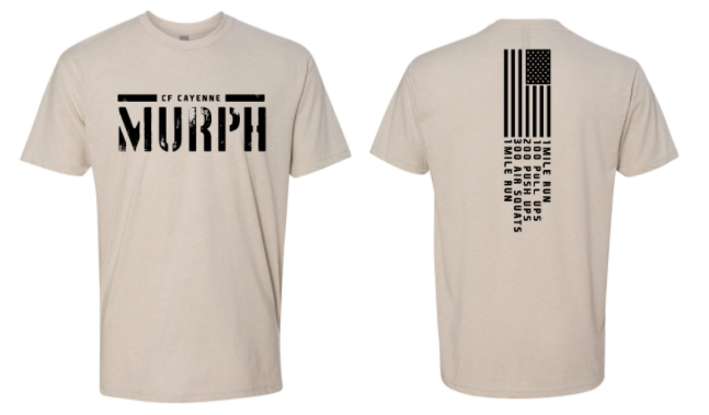 CF Cayenne:  Murph 2020 Unisex Tee *Available in 4 Color Options