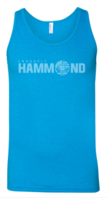 CrossFit Hammond - Tonal Logo Unisex Tank *Available in 3 Color Options
