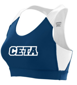CETA - YOUTH Sports Bra *Available in 2 Color Options