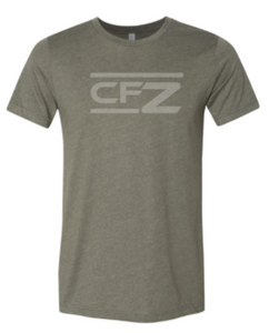 CrossFit Zachary - Tonal Print Adult Unisex Tee *Available in 4 Color Options
