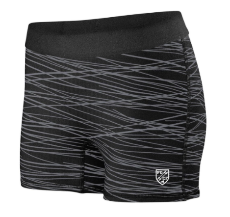 FCCF:  Ladies Fitted Shorts *Available in 2 Color Options