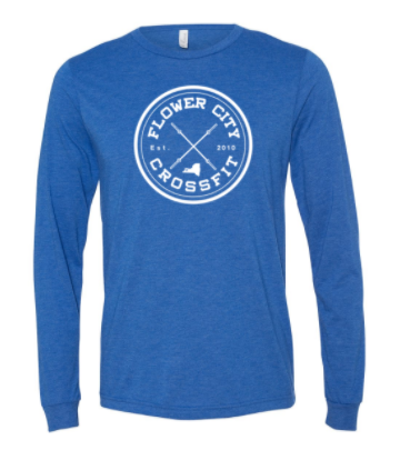 FCCF:  Circle Logo Unisex Long Sleeve Tee *Available in 2 Color Options