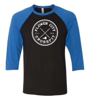 FCCF:  Circle Logo Unisex Raglan *Available in 3 Color Options