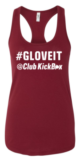 CKBMD Instructor - #GLOVEIT Racerback Tank *Available in 4 Color Options