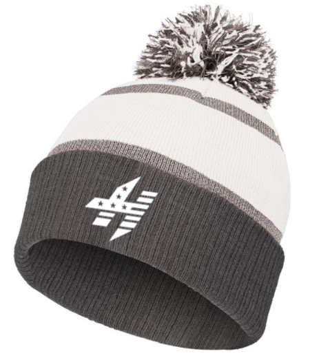 CrossFit Hammond:  Embroidered Reflective Beanie *Available in 2 Color Options