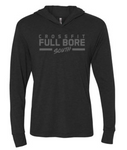 CrossFit Full Bore - Tonal Logo Adult Unisex Long Sleeve Hooded Tee *Available in 3 Color Options