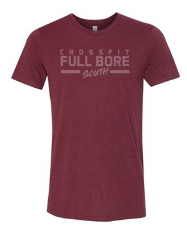 CrossFit Full Bore - Tonal Logo Adult Unisex Triblend Tee *Available in 6 Color Options