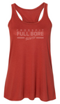 CrossFit Full Bore - Tonal Logo Ladies Racerback Tank *Available in 6 Color Options
