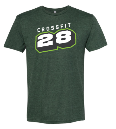 CrossFit 28:  Unisex Triblend Short Sleeve Tee *Available in 3 Color Options