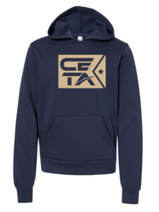 CETA Flag - Youth Unisex Sponge Fleece Hoodie