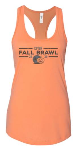 CFBR - Fall Brawl 2020 Ladies Racerback Tank