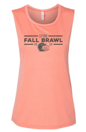 CFBR - Fall Brawl 2020 Ladies Flowy Muscle Tank