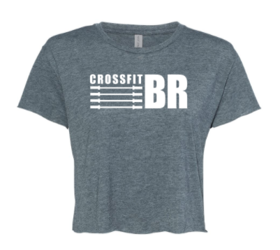CFBR - Ladies Cropped Tee *Available in 2 Color Options