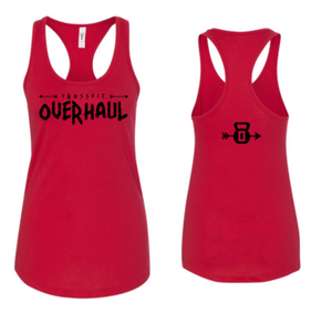 CrossFit Overhaul:  Horizontal Logo Ladies Racerback Tank *Available in 3 Color Options