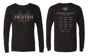 CrossFit Valkyrie Honoring Heroes Tour - Long Sleeve Unisex Tee