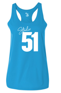 Studio 51:  Ladies Polyester Performance Racerback Tank *Available in 2 Color Options