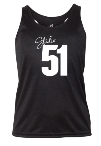 Studio 51:  Youth Polyester Performance Racerback Tank *Available in 2 Color Options