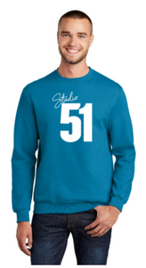 Studio 51:  Adult Crewneck Sweatshirt *Available in 2 Color Options