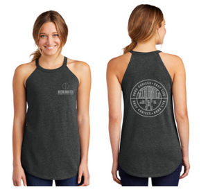 Recalibrated - Hard Choices Ladies Triblend Tank