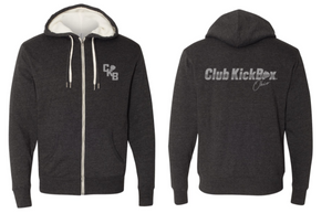 CKBOH Instructor - Unisex Sherpa-Lined Hooded Sweatshirt