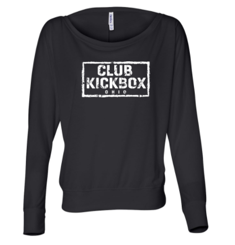 CKBP Instructor - Ladies Off Shoulder Long Sleeve Tee
