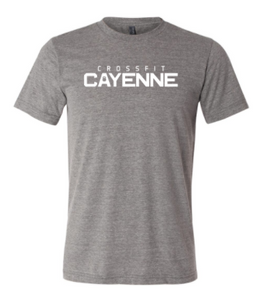 CF Cayenne:  Unisex Short Sleeve Tee *Available in 3 Color Options