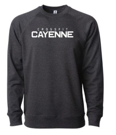 CF Cayenne:  Unisex Crewneck Sweatshirt *Available in 2 Color Options