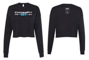 CFBR - Ladies Cropped Crew Fleece