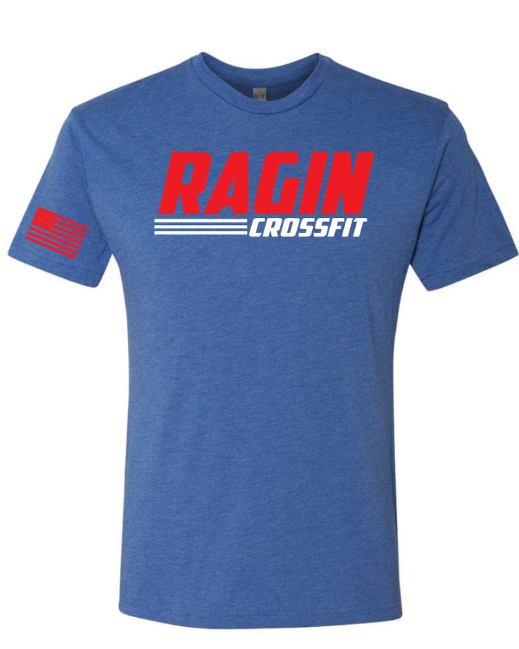 Ragin Crossfit // Flag Blue