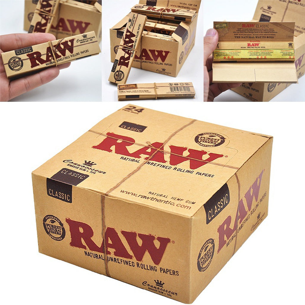 128/256Pcs  Rolling Paper Translucent High Quality Classic Native RAW Paper