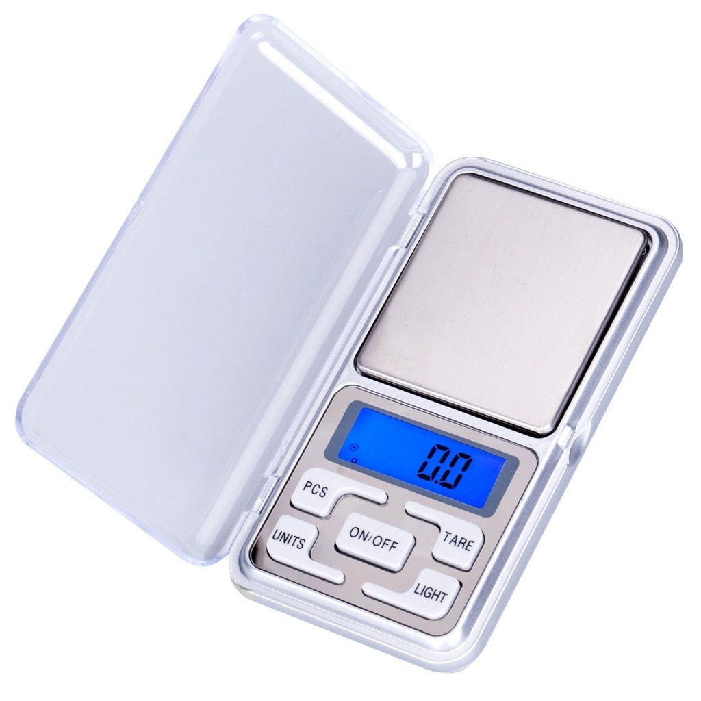 Mini Electronic Pocket Weight LCD Gram Digital Jewellery Scale 500g x 0.01g 0.1g