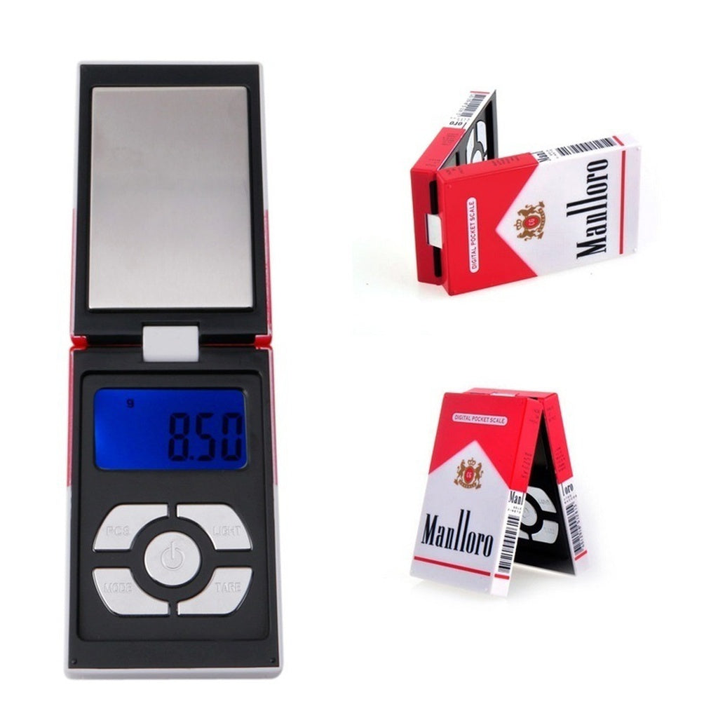Portable 100g 0.01g Digi Cigarette Case Pocket Scale Weight Balance Jewelry
