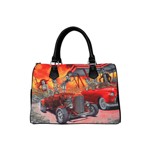 ZOMBIE DRIVE IN  Barrel Type Handbag (Model 1621)