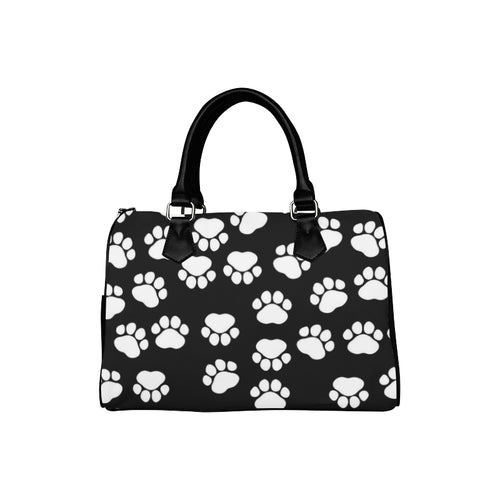 PAWPRINTS Barrel Type Handbag (Model 1621)