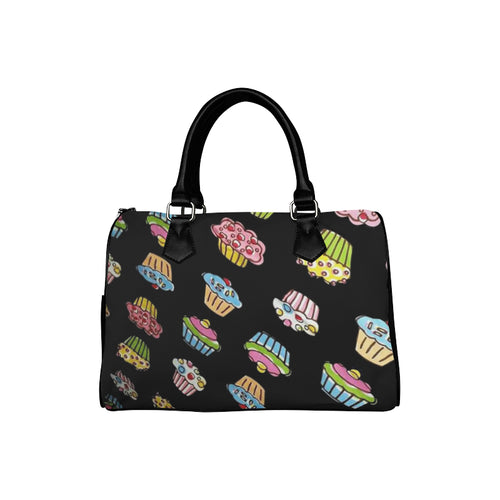 CUPCAKES Barrel Type Handbag (Model 1621)