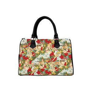 PINUP WOODY BARREL BAG Barrel Type Handbag (Model 1621)