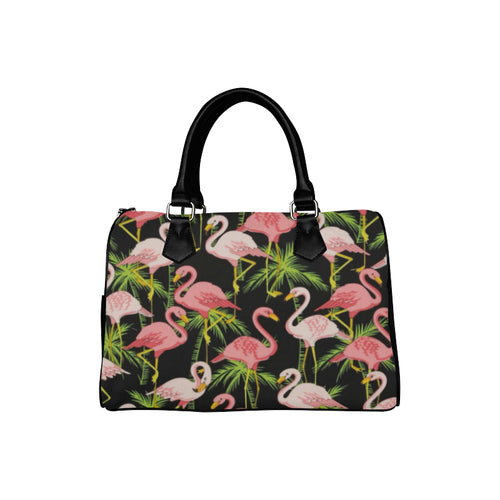 BLACK FLAMINGO BARREL BAG Barrel Type Handbag (Model 1621)