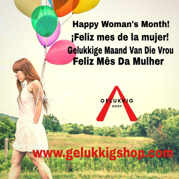Happy Woman's Month!