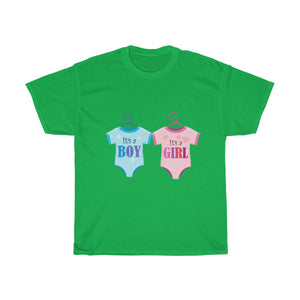 Unisex Heavy Cotton Tee - Baby Shower