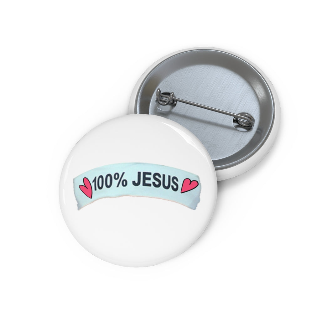 Pin Buttons - 100% Jesús