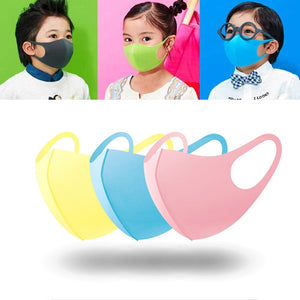 3PCS Child & Adult Cotton PM2.5 Black mouth Mask anti dust mask Windproof Mouth-muffle Face masks