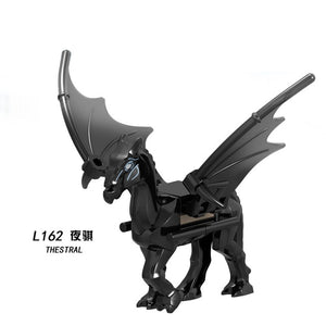 Movie Series Fantastic Beasts Harry Animal Toy Dementor Action Figures Building Blocks Kids Educational Toys For Children Bricks