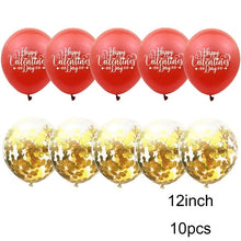 10pc Valentines Day Decor Confetti Balloon Latex Wedding Baloons Birthday Party Decoration Romantic Gifts For Girlfriend