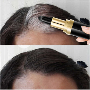 Non-toxic One-Time Hair dye Instant Gray Root Coverage Hair Color Modify Cream Stick Temporary Cover Up White Hair Color Dye