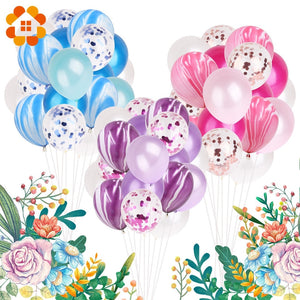 20pcs 12inch Colorful Multi Air Balloons Happy Birthday Party Latex Balloon Decorations Wedding Festival Ballon Party Supplies