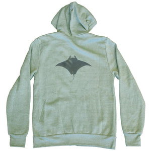Unisex Manta Zip-up Fleece Hoodie