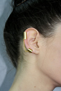 Long Gladiator Ear Cuff.