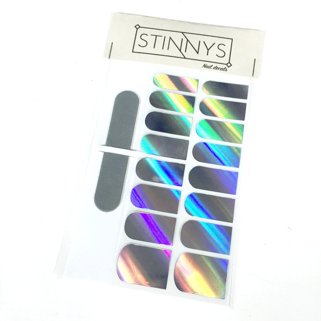 Holographic Nail Decals - Stinnys